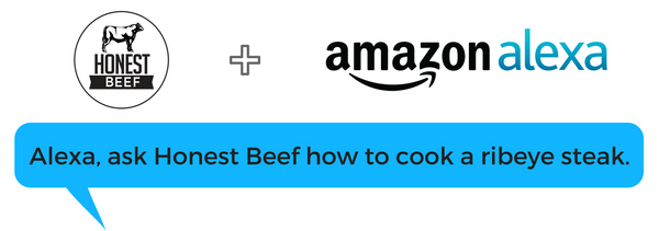 Amazon Alexa + Honest Beef