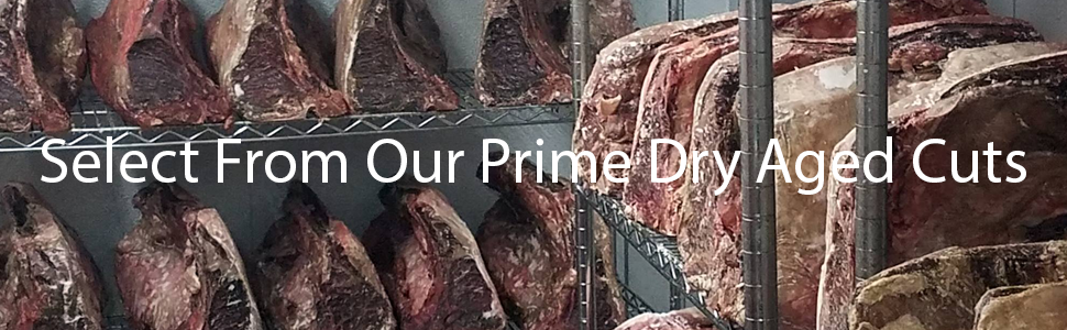 The Steak Source's Dry Aging Room