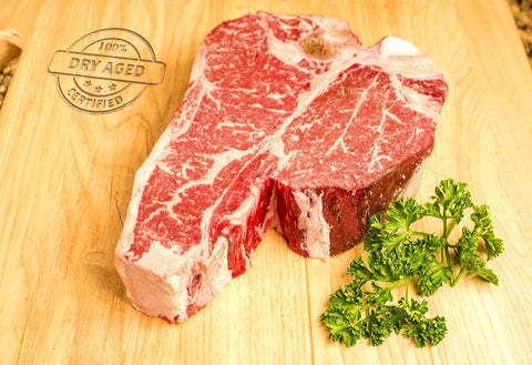 USDA Prime Dry Aged Porterhouse Steaks From The Steak Source