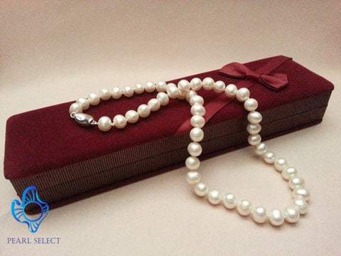 "Freshwater 9mm Pearl 17"" Necklace"