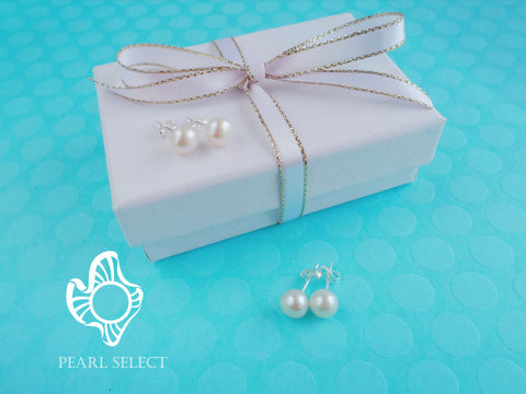 7mm Pearl Earrings
