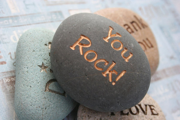 CUSTOM Engraving - Personalized your message stone