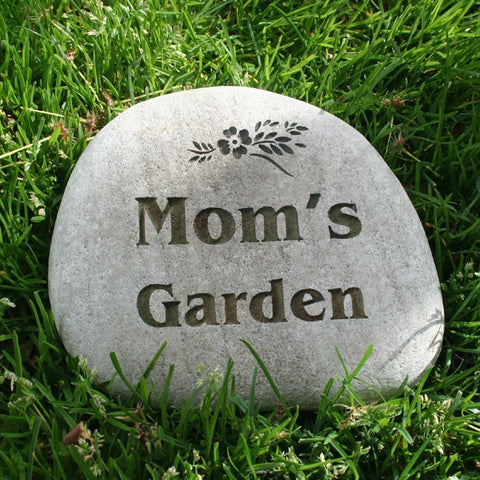 Garden stones sjengraving custom engraved garden stone workwithnaturefo