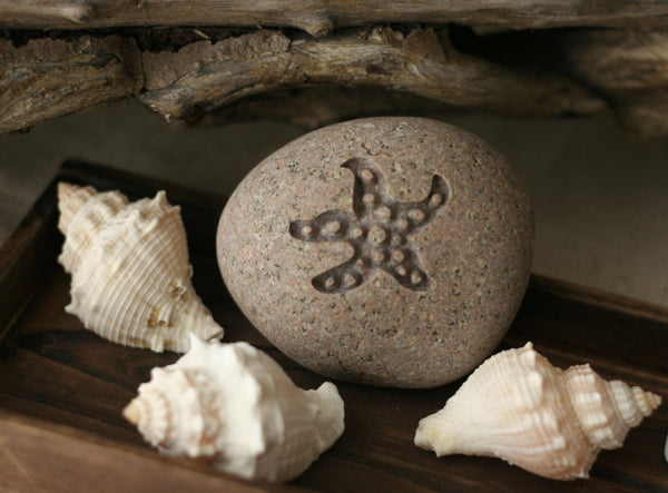 STARFISH - engraved beach theme gift - quick delivery
