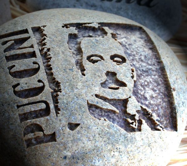 Giacomo Puccini - Portrait Engraving - home decor - paperweight - for classical music lover