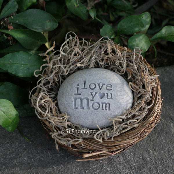 Mother's day gift  - message nest by sjEngraving