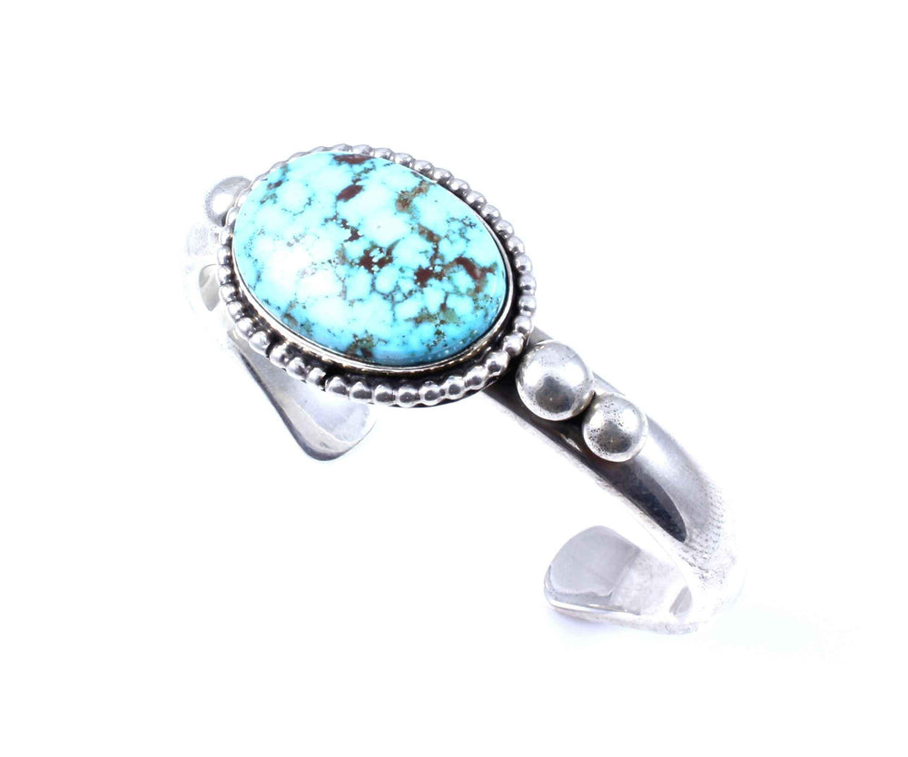 Albert Lee, Jr.-Sorrel Sky Gallery-Jewelry-Oval Kingman Cuff Bracelet