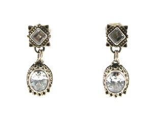 Aldrich Art-Sorrel Sky Gallery-Jewelry-White Topaz Earrings