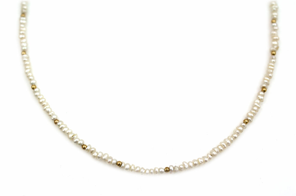 18kt Gold And Japanese Pearl Necklace