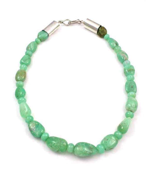 Alfred Lee Jr-Sorrel Sky Gallery-Jewelry-Chrysophase Necklace