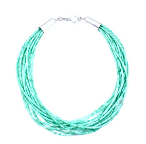 Alfred Lee Jr-Sorrel Sky Gallery-Jewelry-Chrysophrase Necklace