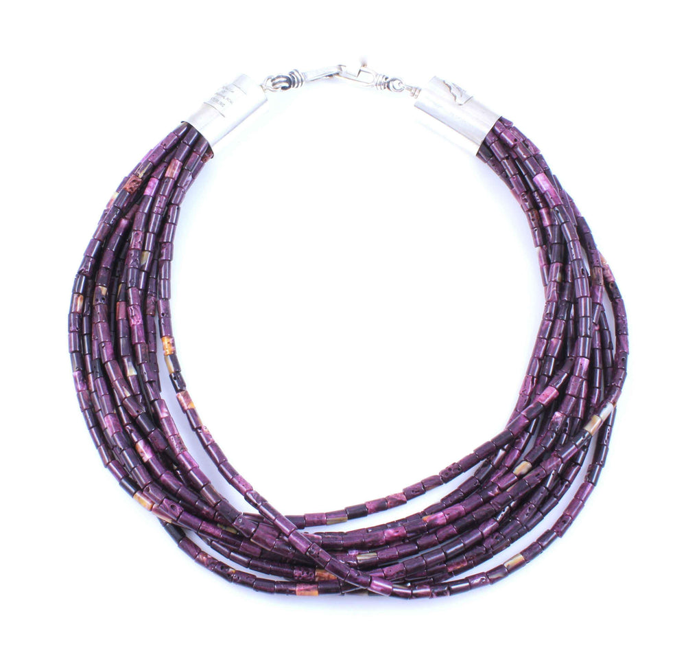 Purple Spiny Oyster Necklace