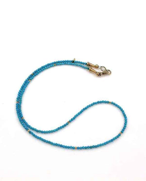 Alfred Lee Jr-Sorrel Sky Gallery-Jewelry-Single Strand Turquoise Necklace