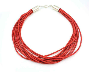 Alfred Lee Jr-Sorrel Sky Gallery-Jewelry-Ten Strand Coral Necklace