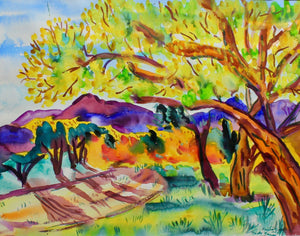 Aline Randle-Sorrel Sky Gallery-Painting-Autumn NM