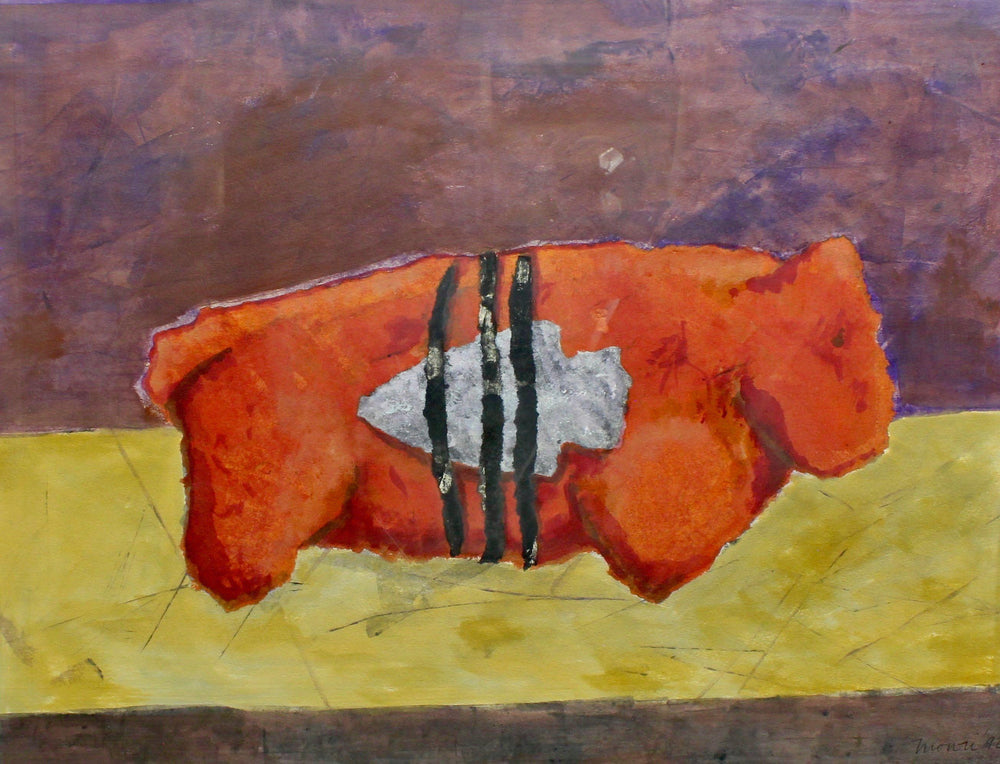 Aline Randle-Sorrel Sky Gallery-Painting-Bear Fetish