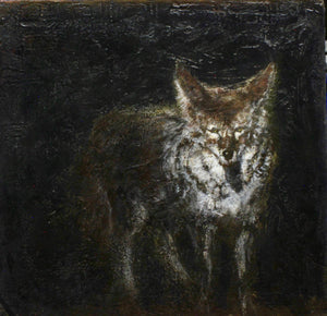 Aline Randle-Sorrel Sky Gallery-Painting-Coyote