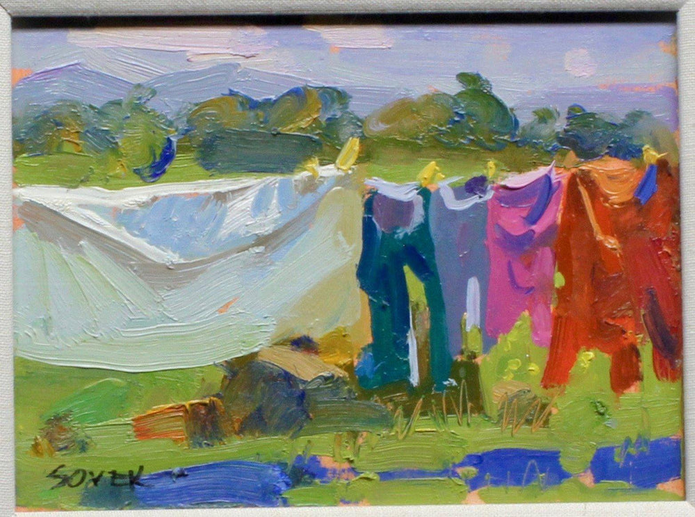 Aline Randle-Sorrel Sky Gallery-Painting-Erica's Laundry