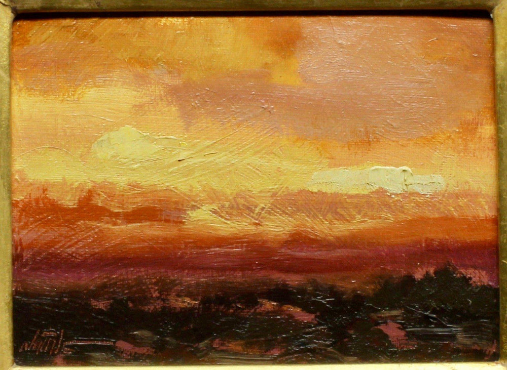 Aline Randle-Sorrel Sky Gallery-Painting-Sunset Glow