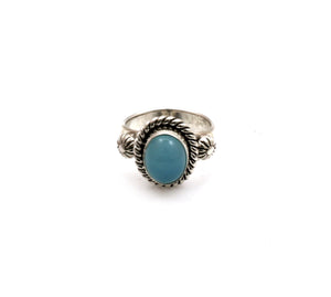 Chalcedony Ring-Jewelry-Artie Yellowhorse-Sorrel Sky Gallery