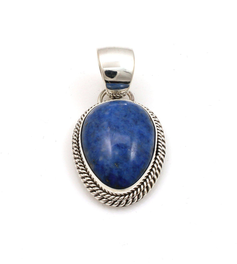 Denim Lapis Pendant-Jewelry-Artie Yellowhorse-Sorrel Sky Gallery