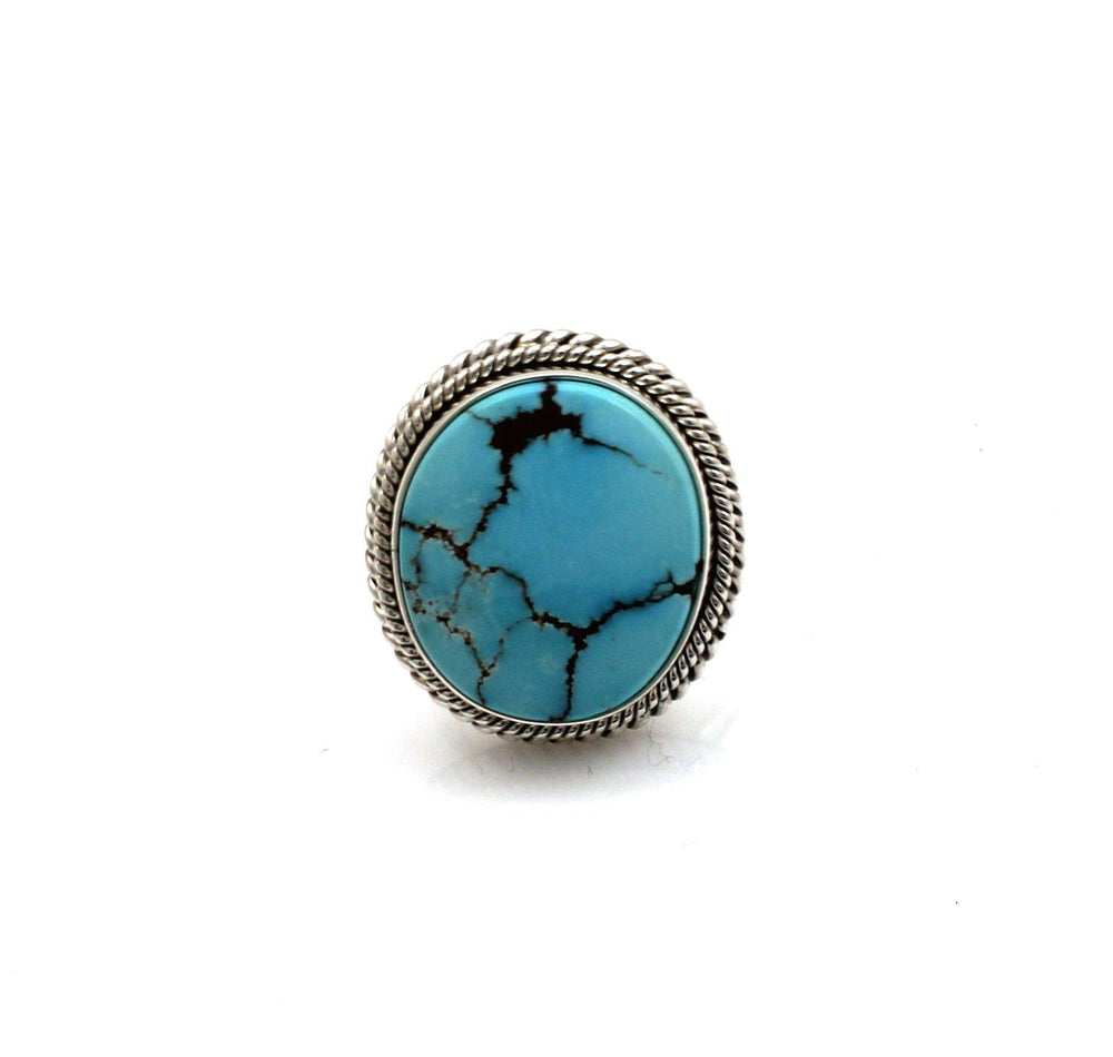 Egyptian Turquoise Ring-Jewelry-Artie Yellowhorse-Sorrel Sky Gallery