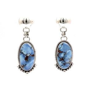 Golden Hills Turquoise Dangle Earrings