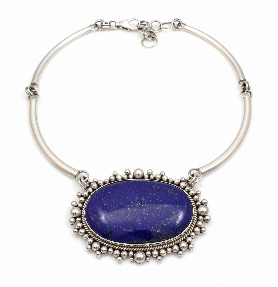 Lapis Necklace-Jewelry-Artie Yellowhorse-Sorrel Sky Gallery