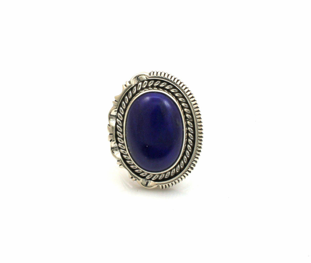 Lapis Ring-Jewelry-Artie Yellowhorse-Sorrel Sky Gallery