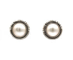 Mabe Pearl Post Earrings