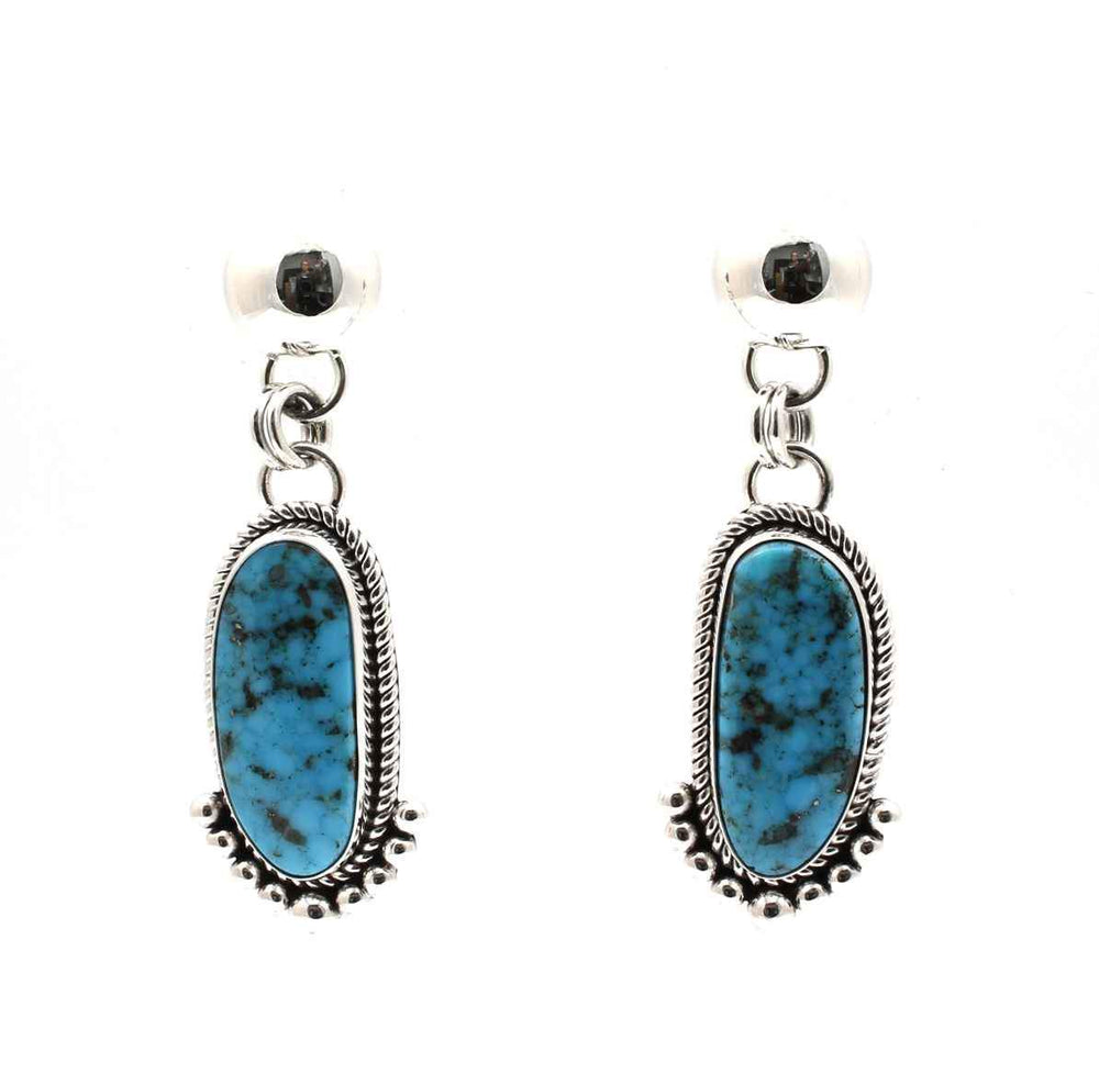 Morenci Turquoise Drop Earrings