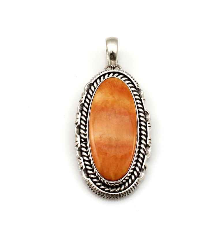 Orange Spiny Oyster Pendant