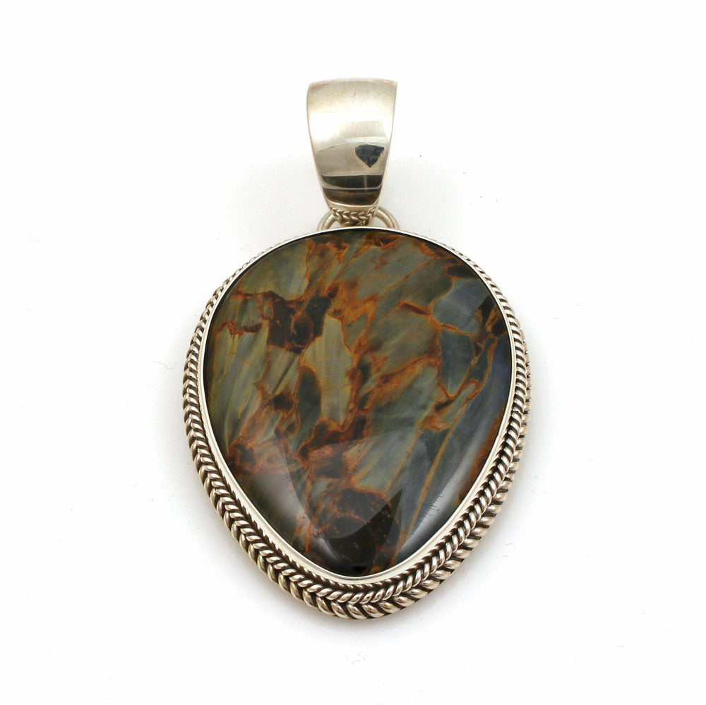 Pietersite Pendant-Jewelry-Artie Yellowhorse-Sorrel Sky Gallery