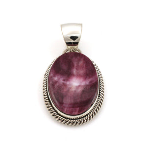 Purple Spiny Oyster Pendant-Jewelry-Artie Yellowhorse-Sorrel Sky Gallery