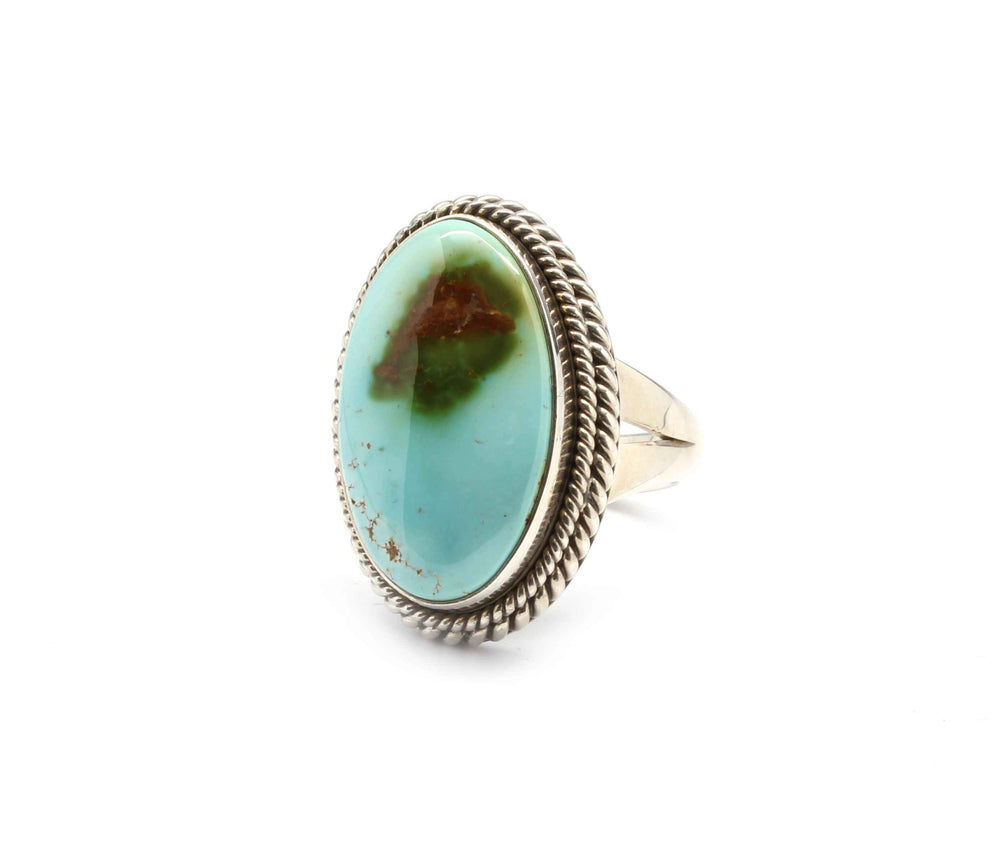 Artie Yellowhorse-Royston Turquoise Ring-Sorrel Sky Gallery-Jewelry
