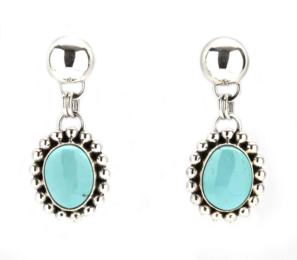 Sierra Nevada Turquoise Drop Earrings