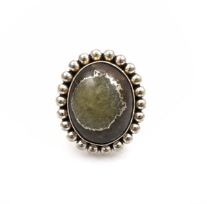 Artie Yellowhorse-Simbersite Ring-Sorrel Sky Gallery-Jewelry