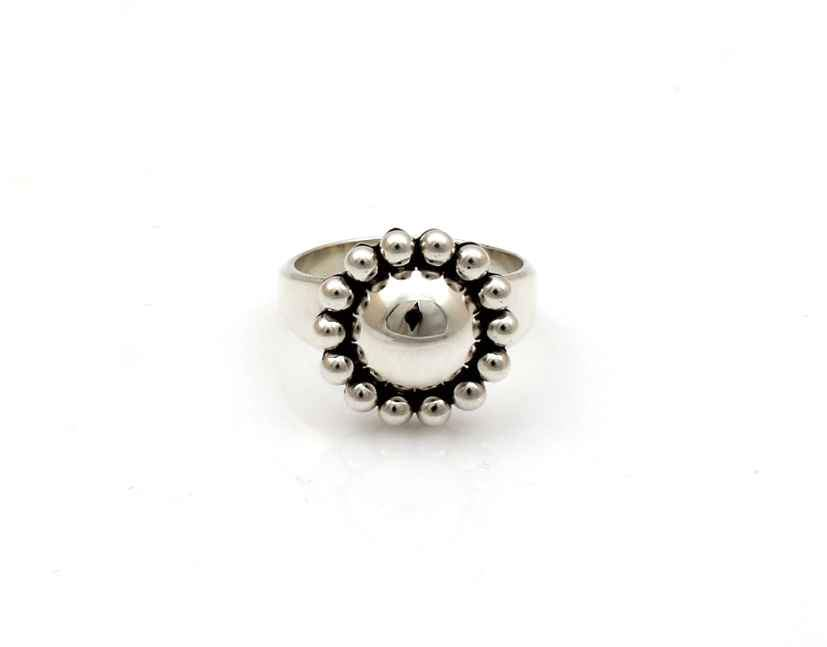 Small Rising Sun Ring