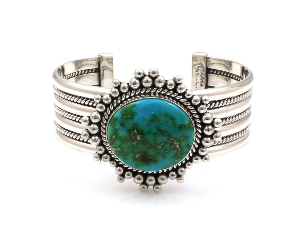 Sonoran Gold Turquoise Cuff Bracelet-Jewelry-Artie Yellowhorse-Sorrel Sky Gallery