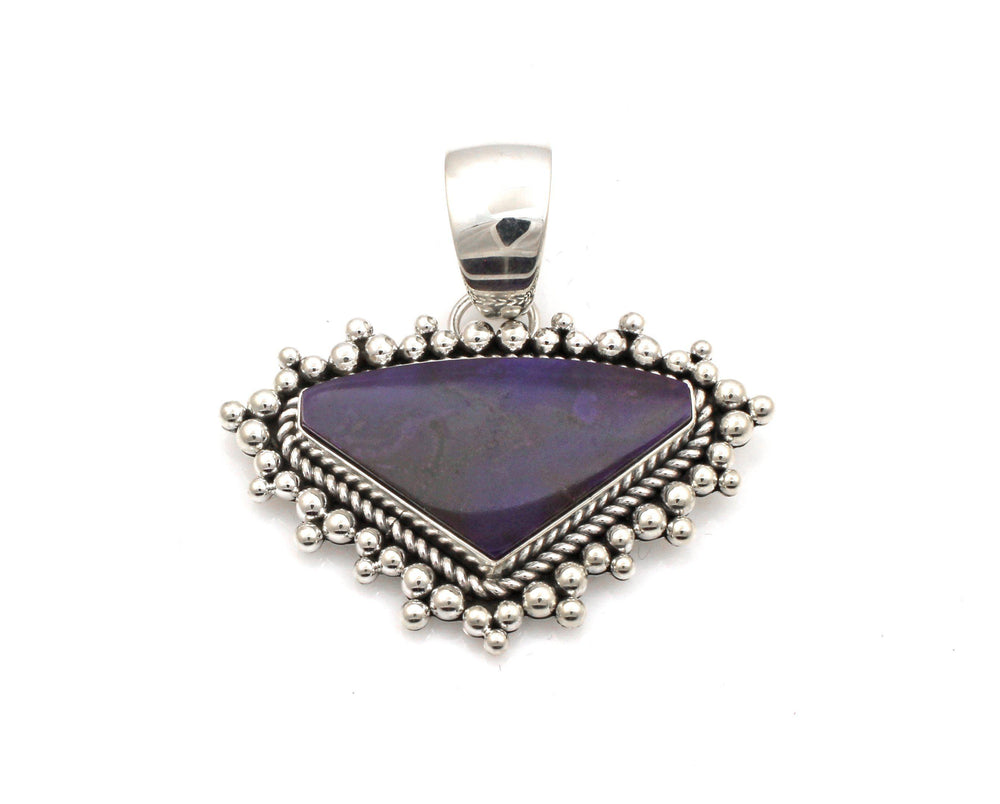 Sugilite Pendant-Jewelry-Artie Yellowhorse-Sorrel Sky Gallery