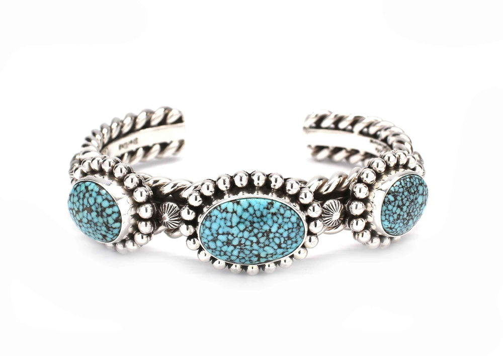 Three Stone Kingman Cuff Bracelet