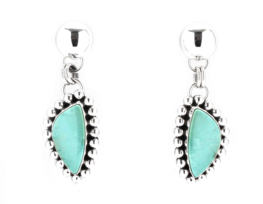 Variscite Drop Earrings