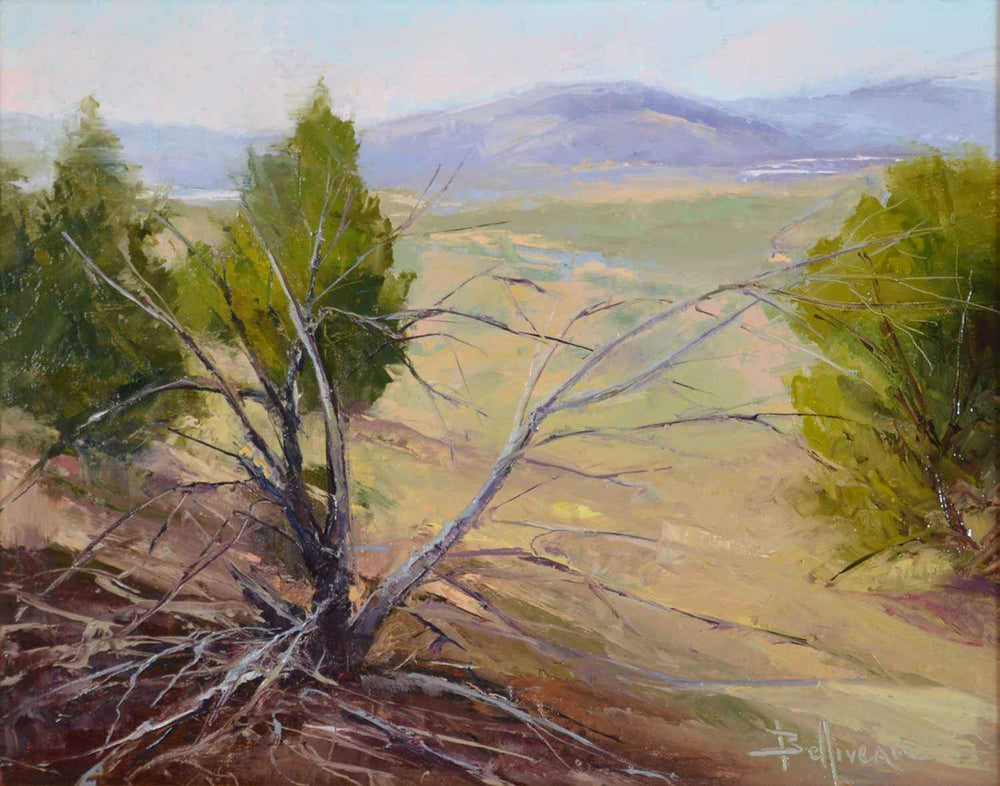 Mysterious Passage of Time - Galisteo Basin-Painting-Belliveau, Carole-Sorrel Sky Gallery