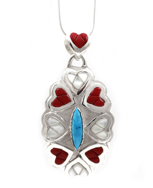 8 Of Hearts Pendant