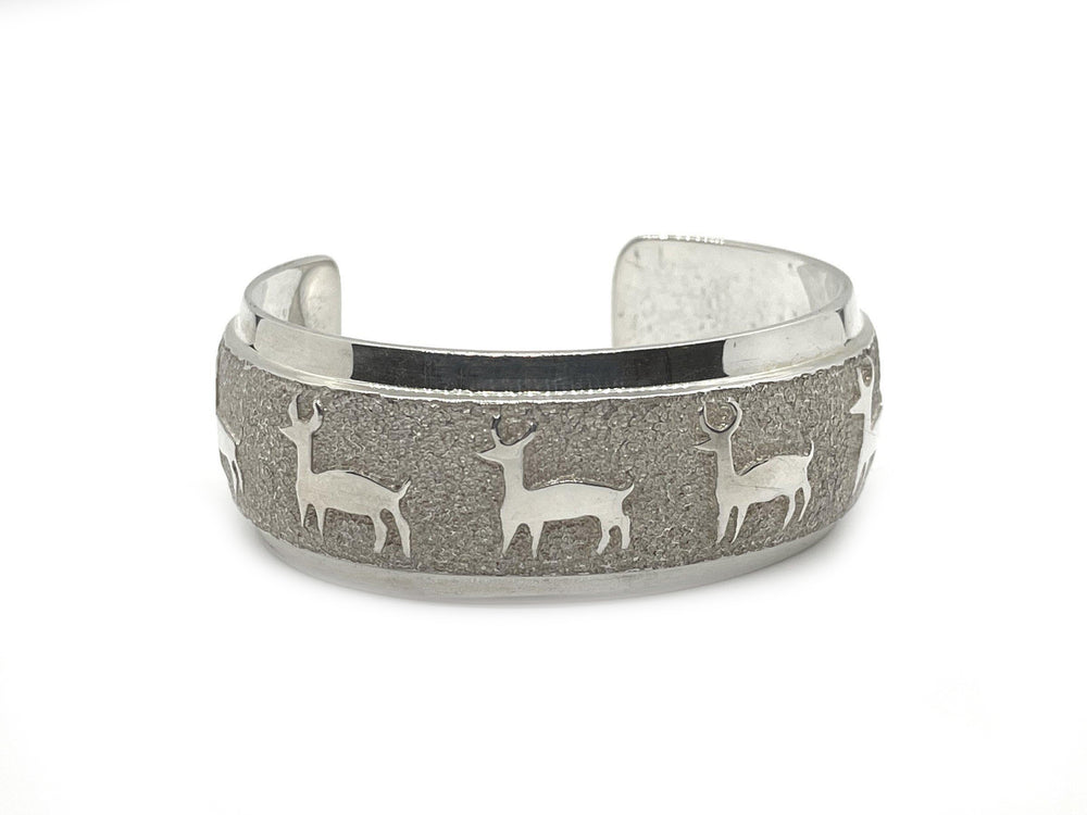 All Metal Deer Bracelet