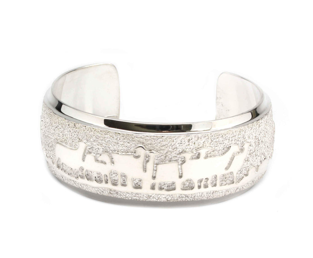 All Metal Sheep Bracelet