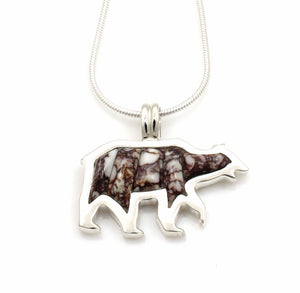 Bear Pendant-Jewelry-Ben Nighthorse-Sorrel Sky Gallery