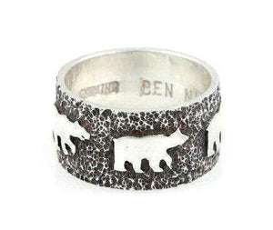 Ben Nighthorse-Bear Wedding Band-Sorrel Sky Gallery-Jewelry