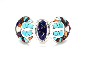 Ben Nighthorse-Butterfly At Night Cuff Bracelet-Sorrel Sky Gallery-Jewelry