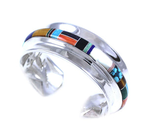 Ben Nighthorse-Channel Inlay/Multi Animal Bracelet-Sorrel Sky Gallery-Jewelry